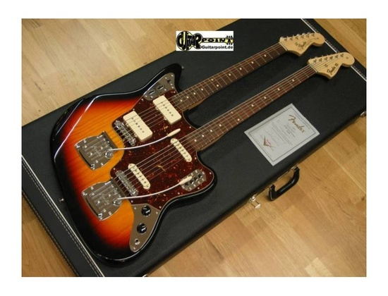 Fender Custom Shop Double Neck Jazzmaster Guitar