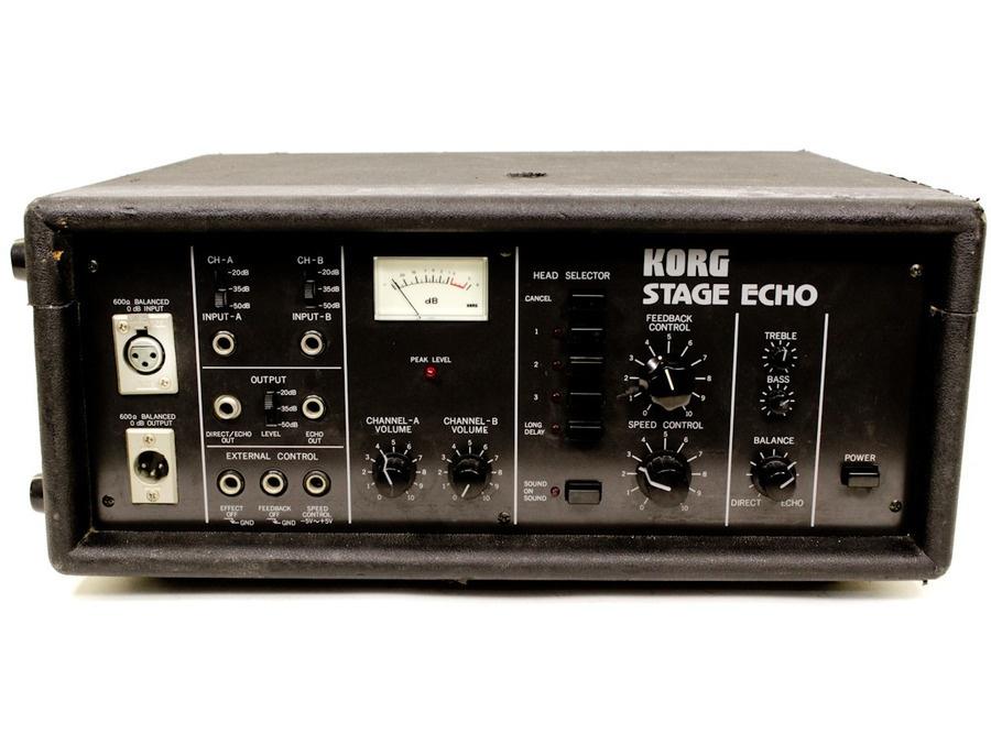 Korg se 500 stage echo tape delay xl