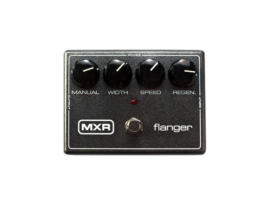 Mxr m117r flanger guitar effects pedal xl