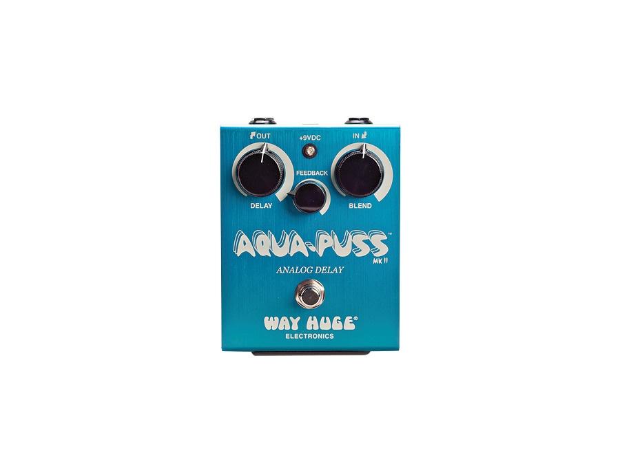 Way Huge Electronics Aqua-Puss Original Analog Delay Guitar Effects Pedal