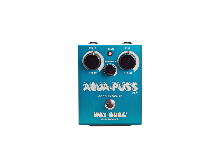 Way Huge Electronics Aqua-Puss Original Analog Delay Guitar Effects Pedal
