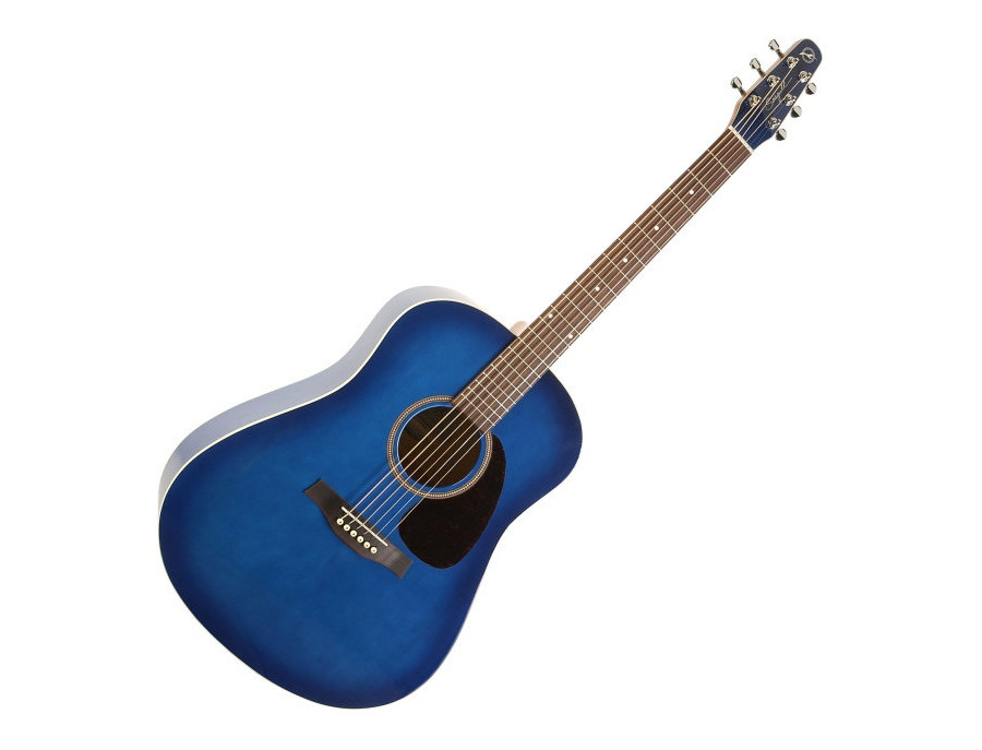 Seagull S6 Spruce Trans Blue GT Acoustic Guitar