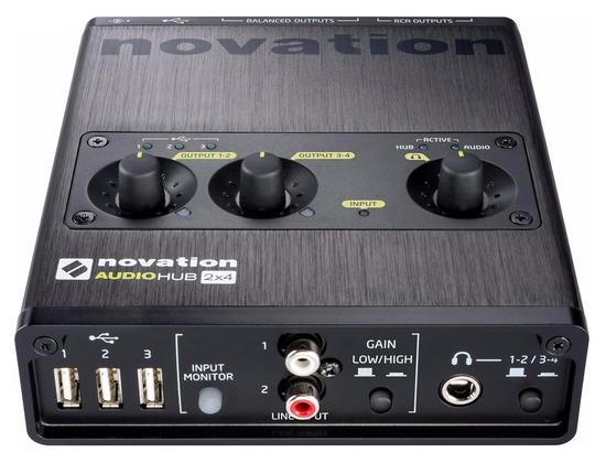 Novation  Audiohub 2x4