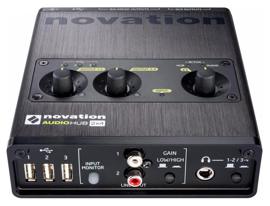 Novation audiohub 2x4 xl