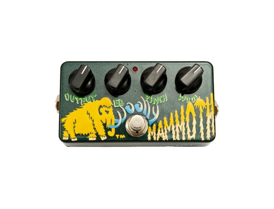 Zvex woolly mammoth fuzz bass effect pedal xl
