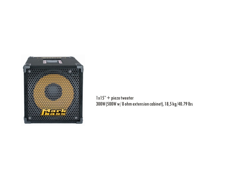 Mark bass mini cmd 151p xl
