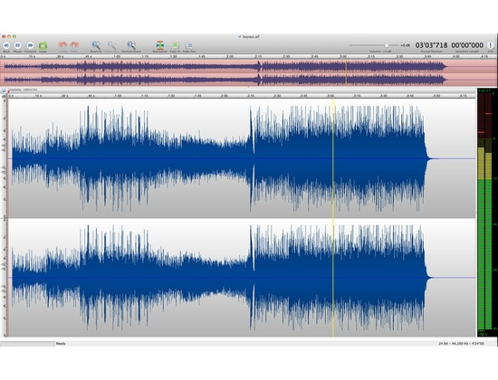 TwistedWave audio editor