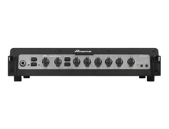 ampeg portaflex pf 500 bass head reviews prices equipboard. Black Bedroom Furniture Sets. Home Design Ideas