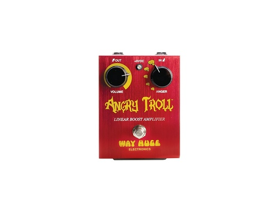 Way Huge Electronics Angry Troll Boost Guitar Effects Pedal