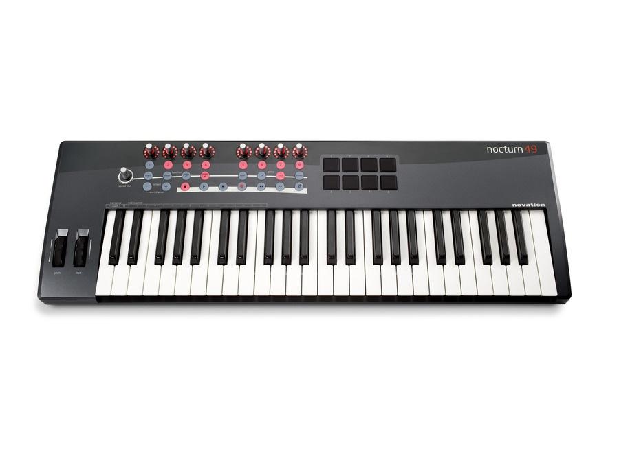Novation Nocturn 49 Key Midi Controller Keyboard