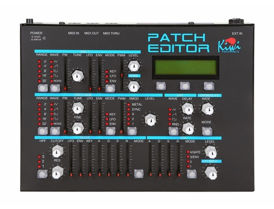 Kiwi Technics Patch Editor