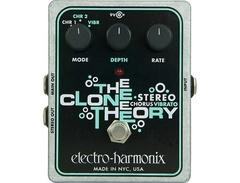 Electro harmonix xo stereo clone theory analog chorus vibrato guitar effects pedal s