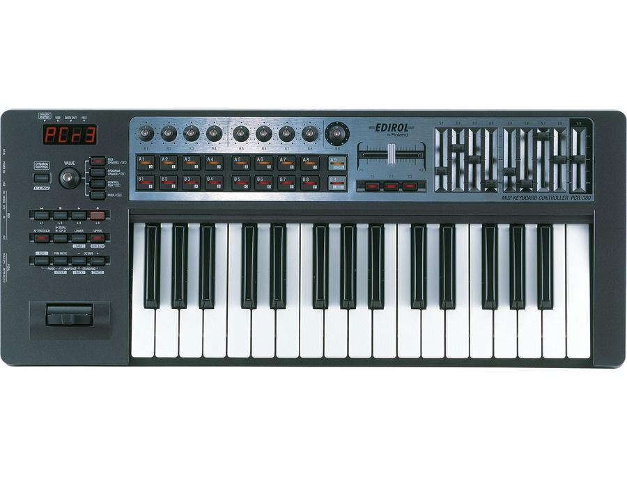 Roland EDIROL PCR-300 USB MIDI Keyboard Controller