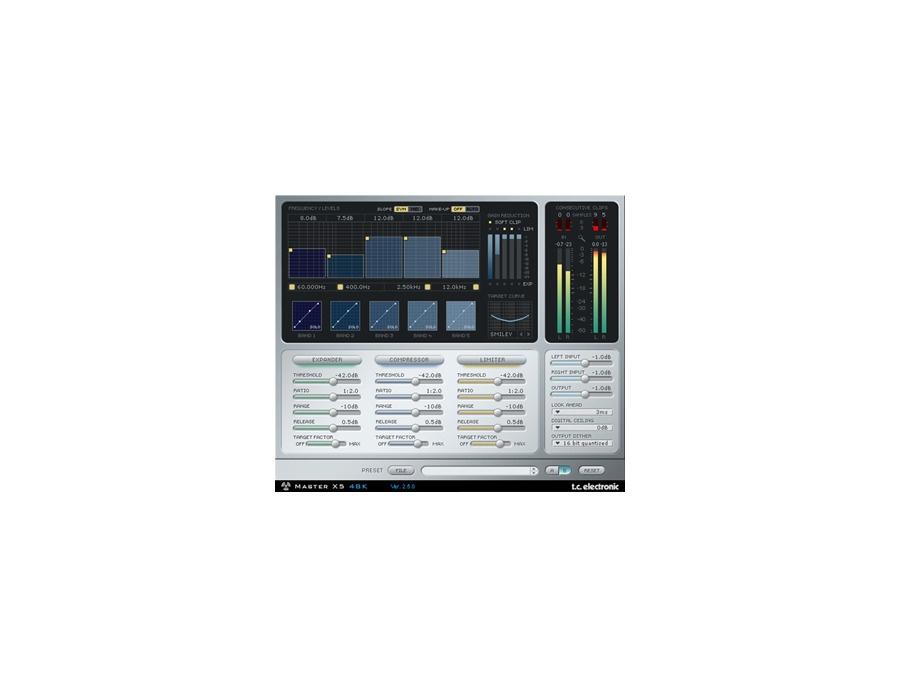 Tc electronic master x5 powercore xl