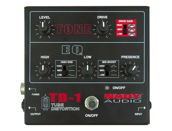 Nady TD-1 Tube Distortion Pedal