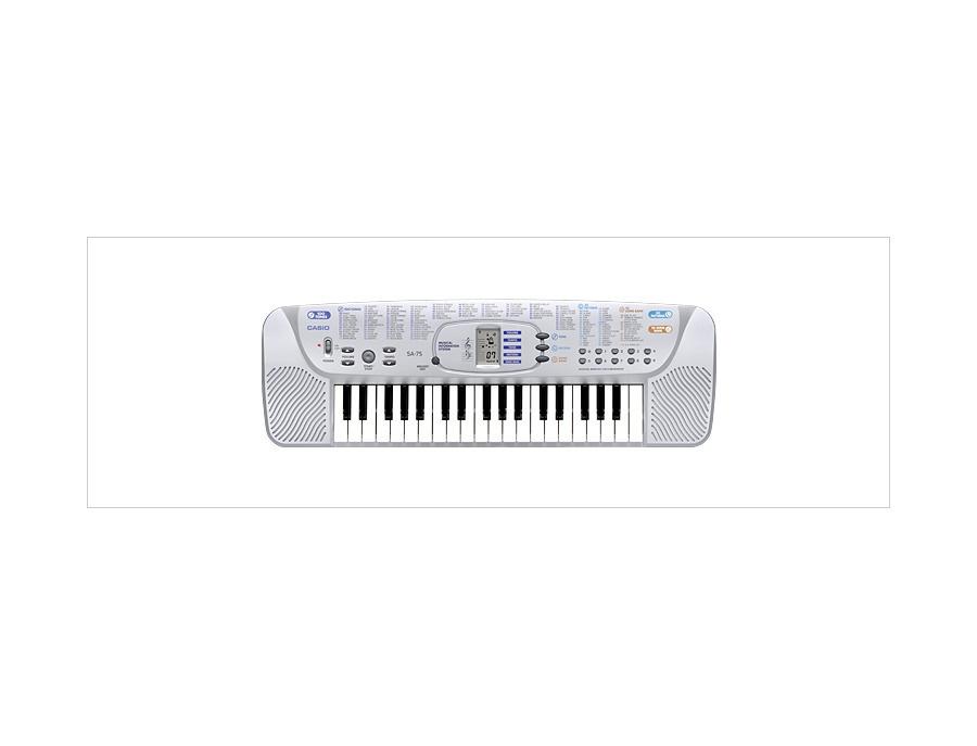 Casio SA-75 Music Keyboard