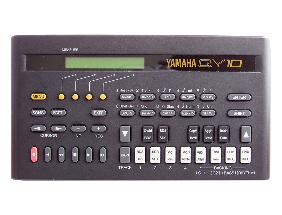 Yamaha qy10 music sequencer xl