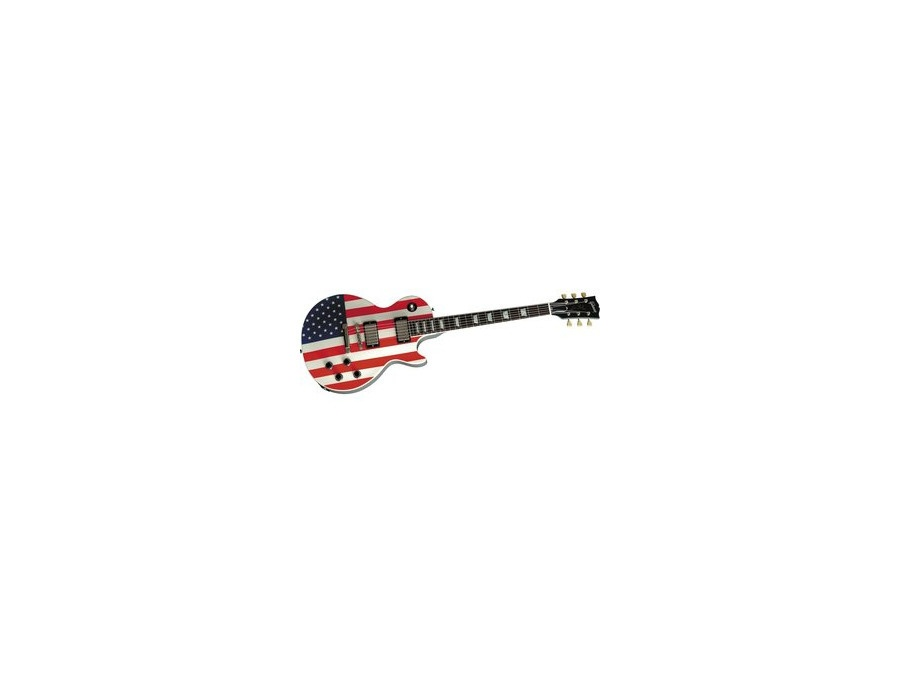 Gibson Custom Stars and Stripes Les Paul