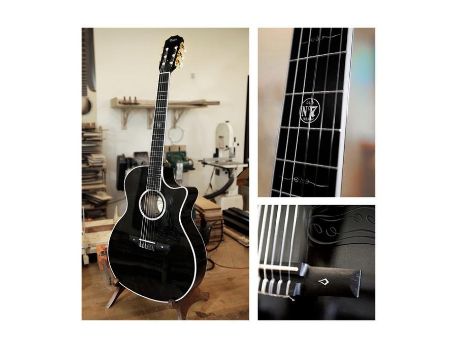 Taylor & Jack Daniels Custom Zac Brown Nylon-String Guitar