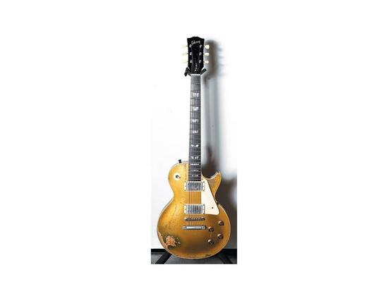Vintage 1957 Gibson Les Paul Goldtop Electric Guitar