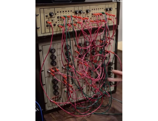 Tim Adams Custom Modular Synthesizer