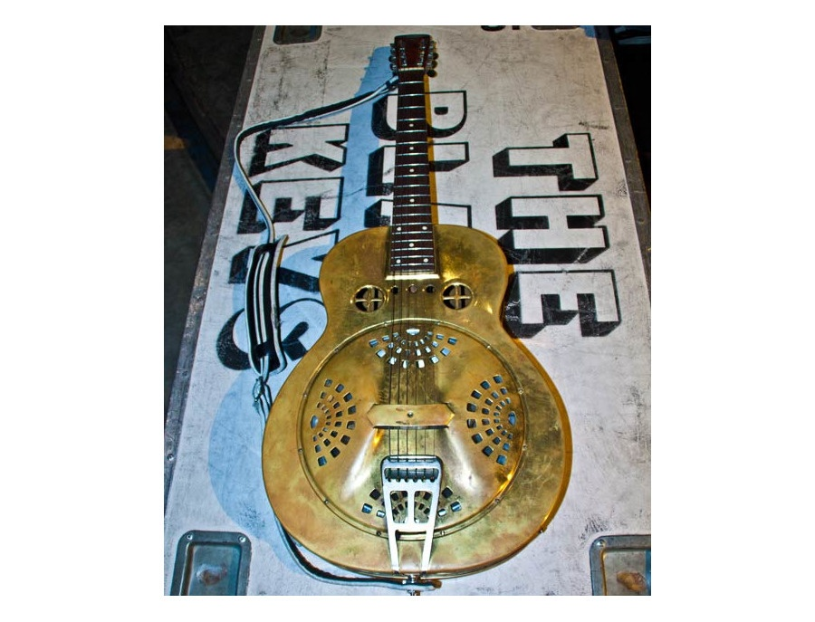 Mid '30s Dobro Spider Bridge Brass Resonator