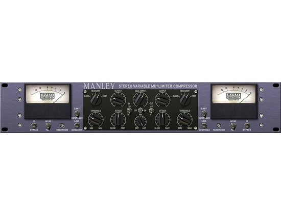 Universal Audio Manley Variable Mu® Limiter Compressor Plug-In