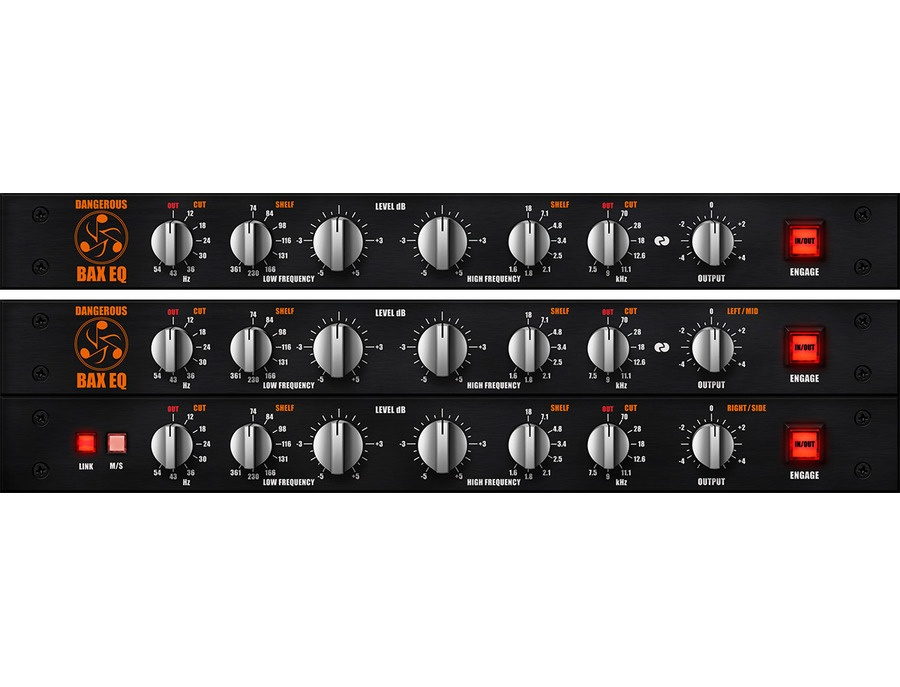 Universal Audio UAD Dangerous BAX EQ Plug-in Collection