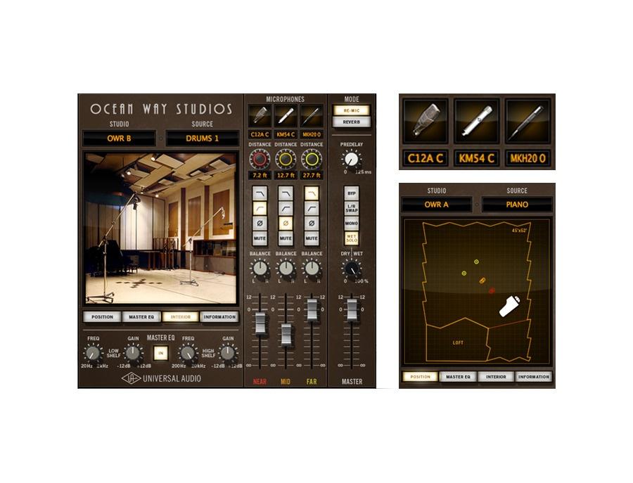 Universal Audio UAD Ocean Way Studios Plug-In