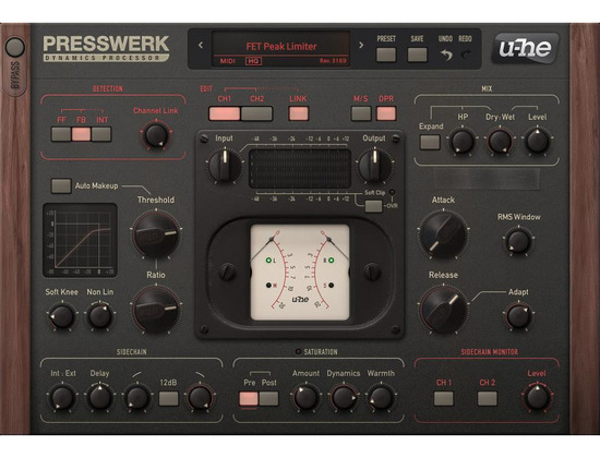u-he Presswerk Dynamics Processor Plugin