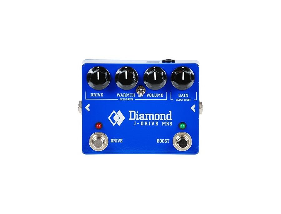 Diamond j drive mk3 guitar effects pedal xl