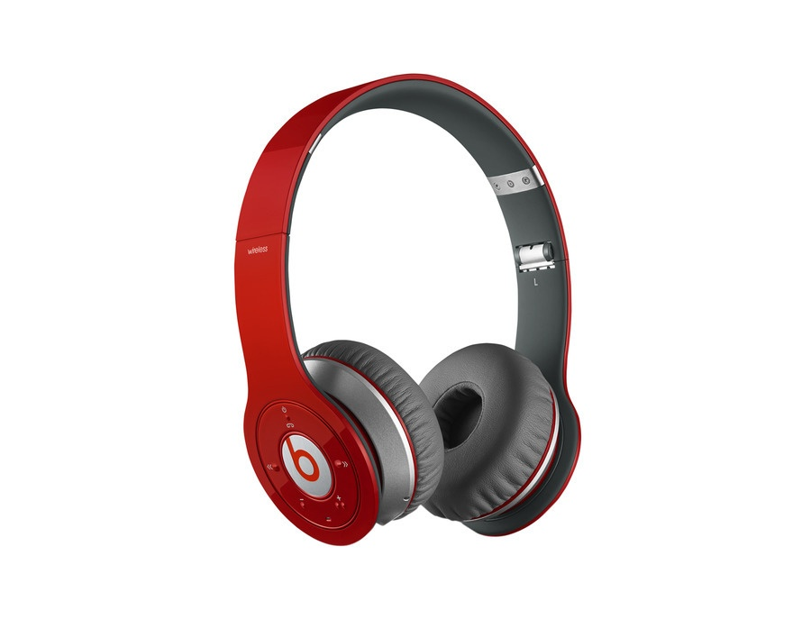 Beats By Dre Solo HD Headphones (Red)