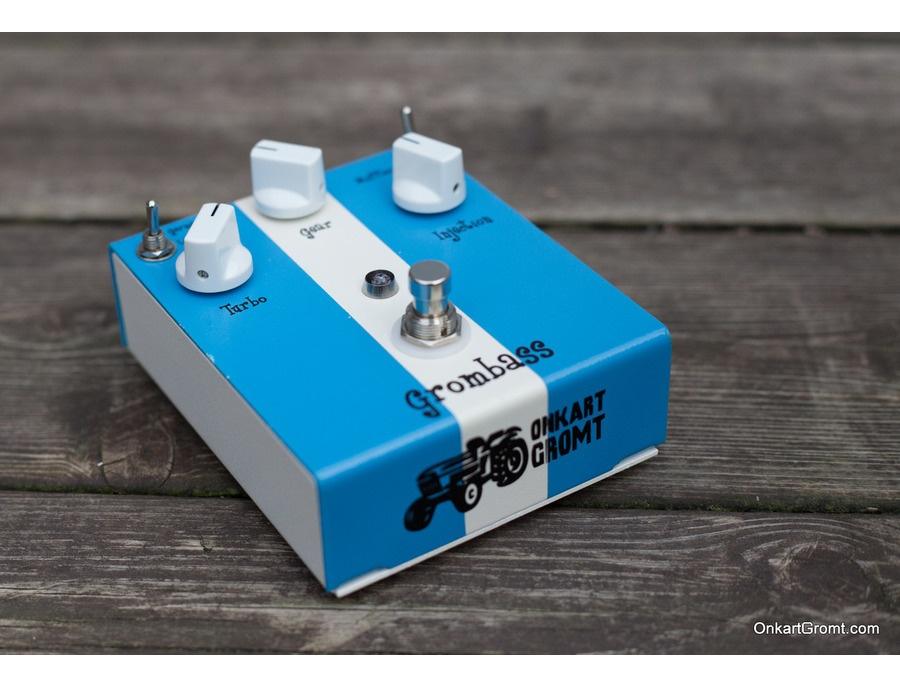 Onkart Gromt Grombass Bass Distortion Pedal