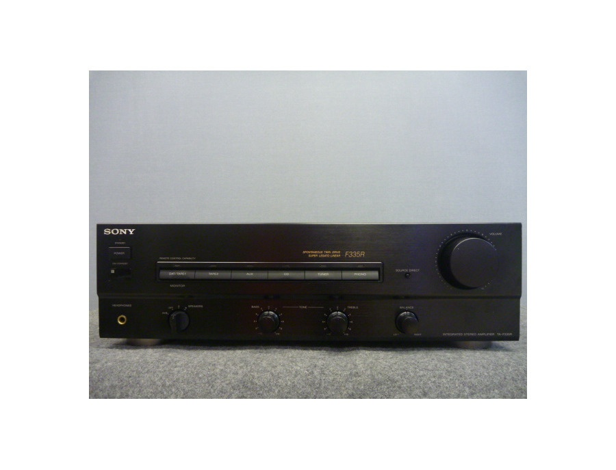 Sony f335r amplifier xl