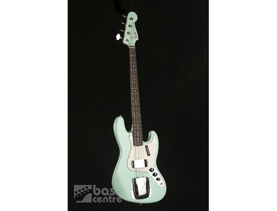 Fender custom shop 64 Jazz Bass, sea foam green