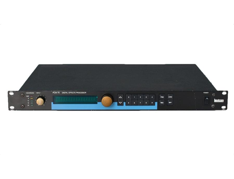 Lexicon PCM-70 Reverb