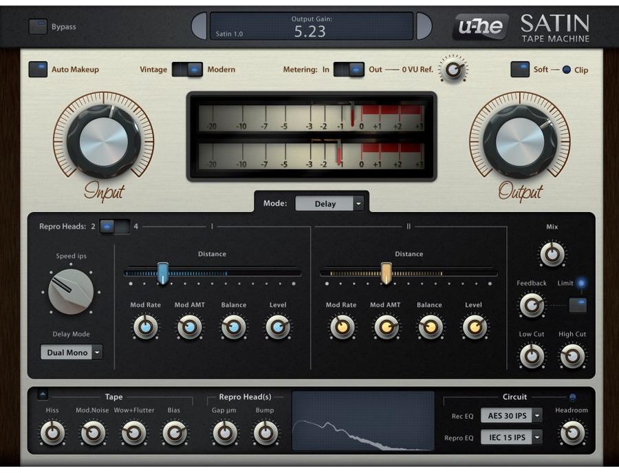 u-he Satin Tape Emulation
