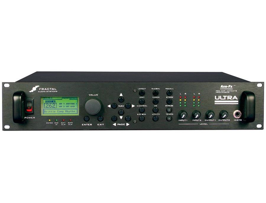 Fractal Audio Axe-Fx Ultra Guitar Effects Processor