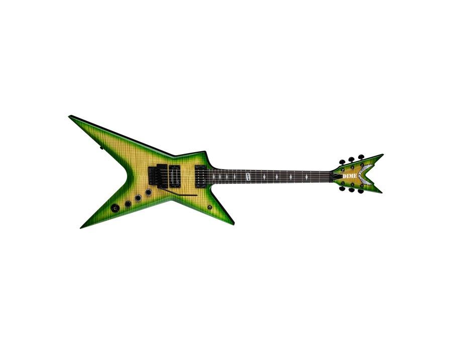 Dean Guitars Stealth Floyd FM - Dime Slime