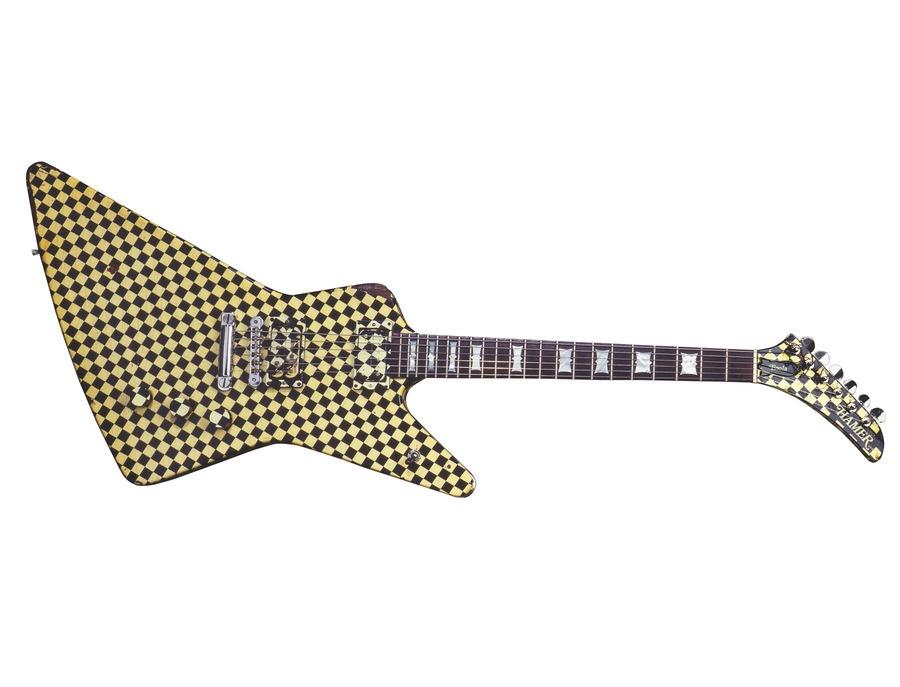 "Hamer Standard ""Checkerboard"" Guitar"