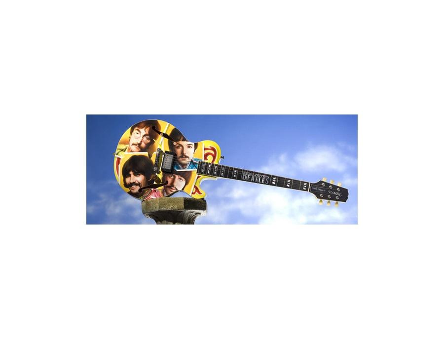 """Hamer """"Uncle Pepper"""" Guitar"""