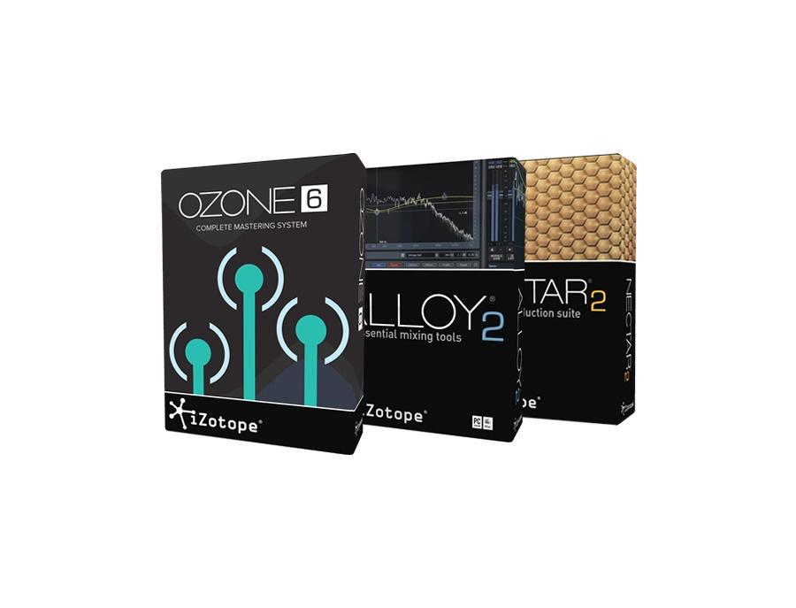 Izotope studio bundle ozone alloy nectar xl