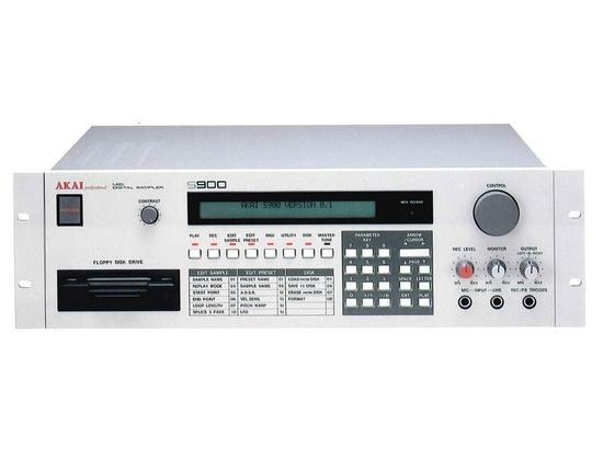 Akai S900 MIDI Digital Sampler