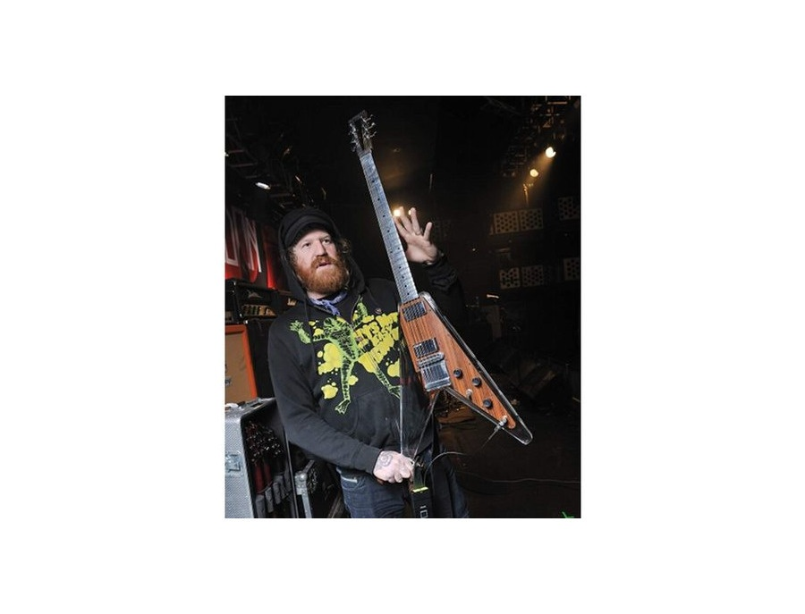 electrical guitar company brent hinds custom v guitar reviews prices equipboard. Black Bedroom Furniture Sets. Home Design Ideas