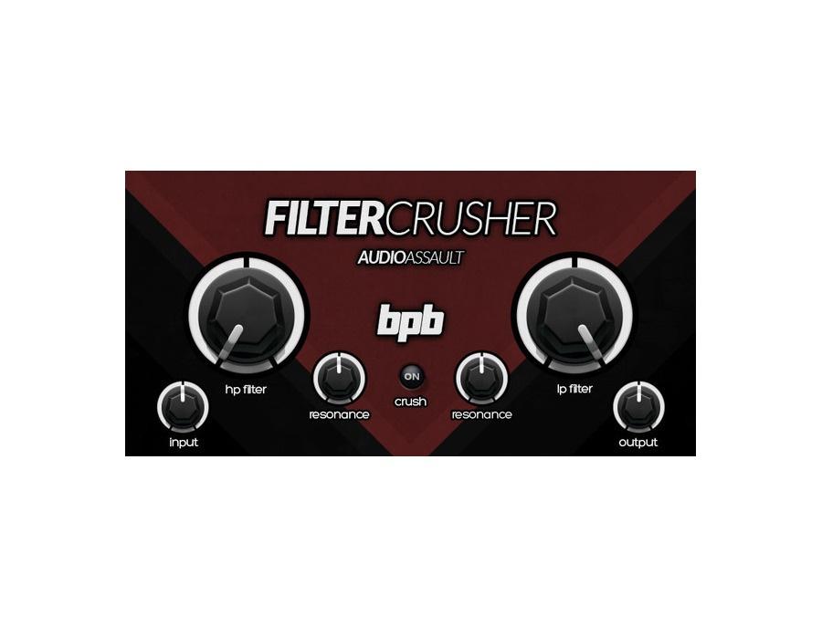 Bedroom producers blog audio assault filtercrusher xl