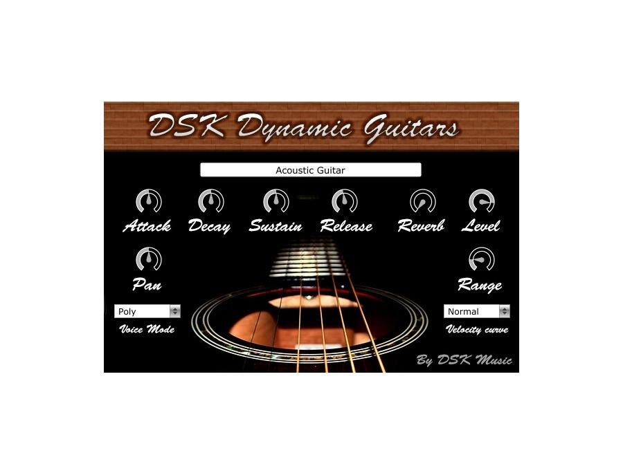 Dsk music dsk dynamic guitars xl