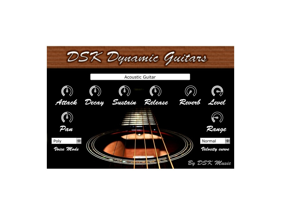 dsk music dsk dynamic guitars free vst plugin equipboard. Black Bedroom Furniture Sets. Home Design Ideas