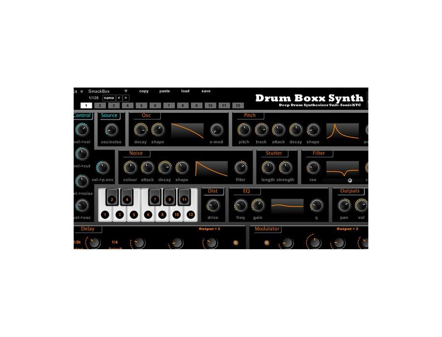 Sonicxtc drum boxx synth xl