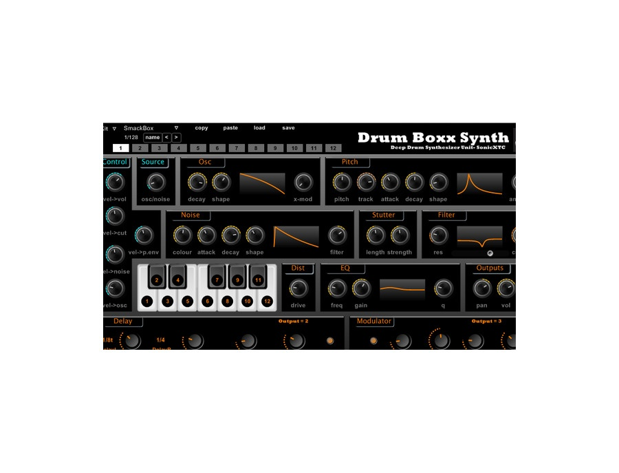 SonicXTC Drum Boxx Synth