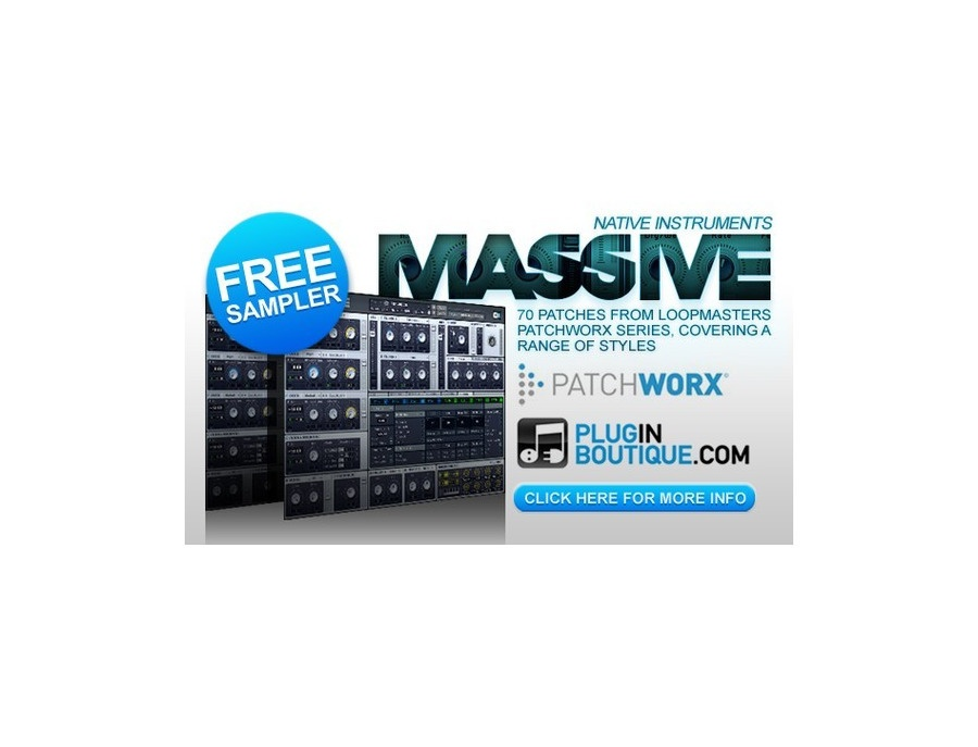 Plugin Boutique Massive Synth Sampler